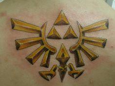 Legend Of Zelda Tattoo Ideas | Awesome Legend Of Zelda Triforce Bicep Tattoo Pic Global Geek News