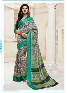 grey-cotton-silk-printed-casual-wear-saree-