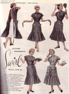 One of Ethyl Mertz's dresses.  Love it.