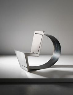 "Ron Arad, ""Rietveld"" chair, executed during a Vitra Design Museum workshop, Weil am Rhein, Germany"