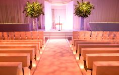 The actual wedding ceremony is pretty short. Why spend lots of time on it? Sometimes simple can be better! Romantic too!