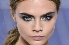 Make up contemporaneo #metal #make up