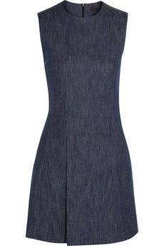 Victoria Beckham Denim Denim mini dress | NET-A-PORTER