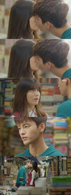 "[Spoiler] ""Shopping King Louis"" Seo In-guk and Nam Ji-hyeon kiss @ HanCinema :: The Korean Movie and Drama Database"