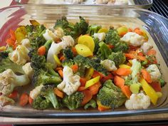 Anyone who hints at not enjoying broccoli would like this recipe. The vegetable combination, enhanced by cheddar cheese, makes a colorful side dish. Vegetable Blend Recipe, Vegetable Prep, Vegetable Dishes, Vegetable Recipes, Vegetarian Recipes, Healthy Recipes, California Blend Recipe, California Blend Vegetables Recipe, Roasted Mixed Vegetables
