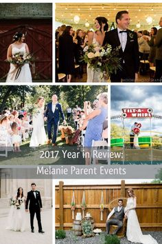 2017 Year in Review - See more full planning and day of coordination examples on the blog! Melanie Parent Events - Winnipeg Event Planner #winnipegwedding #weddingideas #weddingplanning