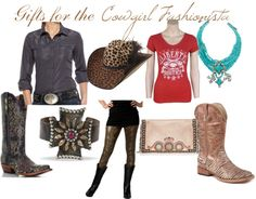"""""""Gifts for the Cowgirl Fashionista"""" by westernglamour on Polyvore    I'll take it all thank you!"""