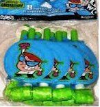 Dexter's Laboratory Blow-outs 8 Count by designware. $3.99 Party Games, Party Supplies, Count, Toys, Crafts, Decor, Activity Toys, Manualidades, Decoration