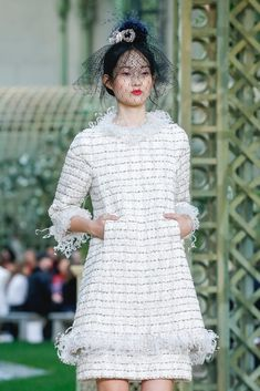 Runway: Chanel Haute Couture Spring/Summer 2018, Paris.