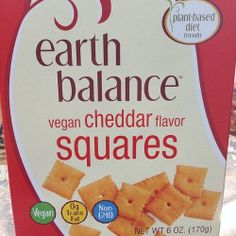 HOLY SHIT VEGAN CHEEZ-ITS EXIST. That is all.