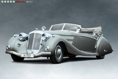 Horch 853 Sport Cabriolet by Voll & Ruhrbeck, 1937***Research for possible future project.