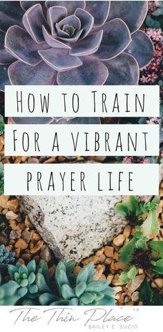 Disciplines of the Faith: 5 Tools to Deepen Your Prayer Life - The Thin Place #pray #praying #christian #faith #prayer