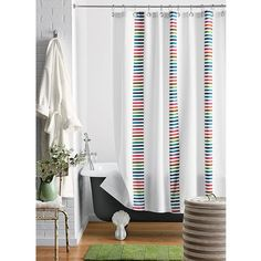 20 Luxury Shower Curtains for Your Modern Bathroom | Hominic.com