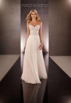 Martina Liana 646 Wedding Dress - The Knot
