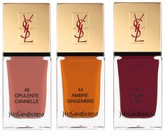 YSL La Laque Couture Spicy Collection Spring 2014