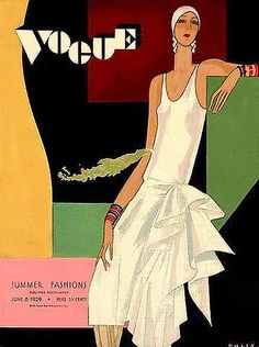 VOGUE Magazine Covers From The Art Deco Era (1926 to 1931) - PART 2 | Art Deco Lovers