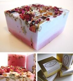 Soft, feminine and sensual: this natural soap mix lilac and rose with coconut, herbs, fruits and vegetables ingredients, free of animal products
