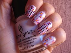 Candy Flowers Nail art