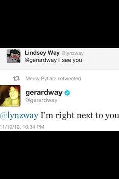 Gerard way tweets