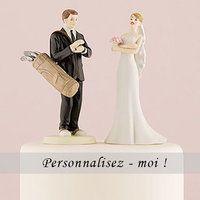 Figurine de Mariage Golf - http://www.instemporel.com/s/12597_228263_figurine-de-mariage-fan-de-golf