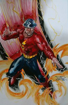 The original Golden Age Flash by Philip Tan (DC Comics)