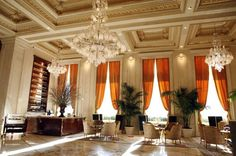 July 2013: Champagne Bar at The Plaza Hotel, NYC