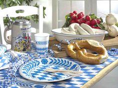 VIVE EL OKTOBERFEST con productos Papstar. decoración de la mesa y fiesta en www-papstar-shop.es