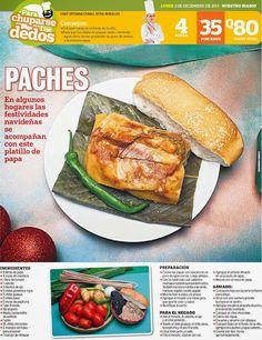 Cocinas y Recetas: Jueves día de paches en Guatemala