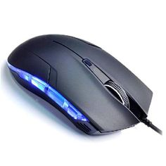 MOONHOUSE Pop Cobra Optical 1600 DPI USB Wired Gaming Game Mouse for Games PC Black ** More info could be found at the image url. (Note:Amazon affiliate link)