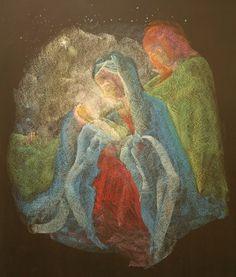 Rudolf Steiner College, mother mary, baby jesus, joseph