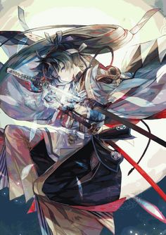 This is actually a character from Otogi (the so called Ayakashi Ghost Guild 2, even if the developers said that it is actually not). Write me, Cyril Knight, if you want info on the game and even the link to download it from; even if it is still partially in chinese, most is traduced