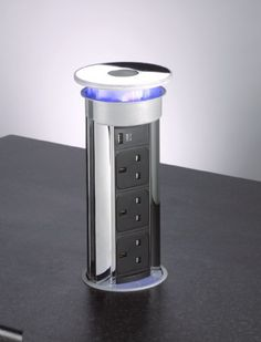 Flush Fitting Concealed Pop Up Sockets Office Electrics, Dental Design, Pop Out, Home Automation, Kitchen Remodel, Countertops, Locker Storage, Chrome, Stuff To Buy