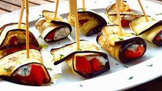 Les receptes que m'agraden: Rollitos de berenjenas, aperitivo de verano