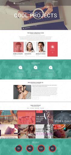 Web Design CV WordPress Theme wordpress website template