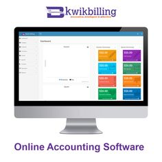 A hard-hitting and innovative #Online #Accounting #Software to cater to the needs of your small businesses end to end. Just stay on the top of your business via free accounting software with KwikBilling - https://goo.gl/JvsBDl