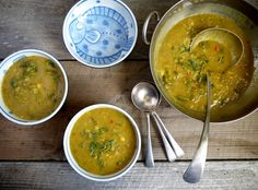 This Lentil and Nettle Curry ticks all the boxes. Serve either as a soup, or reduce down to make a well spiced side dish.