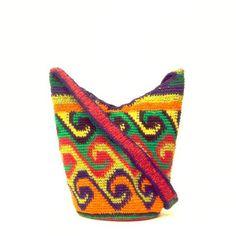 Handwoven Should Bag - Wayuu Tribe - MOCHILAS WAYUU BAGS