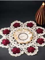 Craftdrawer Crafts: Free Floral Crochet Doily Patterns