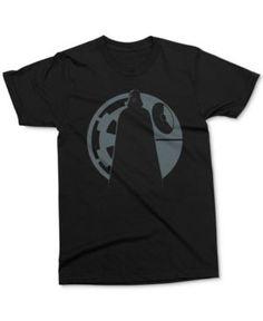 Mighty Fine Men's Star Wars Darth Vader Graphic-Print T-Shirt - Black XXL