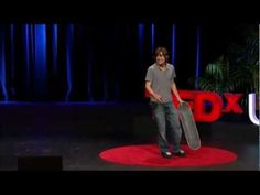 Rodney Mullen: Pop an ollie and innovate! (TED Talk) . I once met Rodney in Raleigh NC during one of his tours and he's as inspiring to talk with as he is to watch skate!