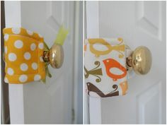 Adorable DIY Door Silencers-- perfect so those little fingers don\u0027t get smushed! | TLC Crafts | Pinterest | Finger Doors and Sewing projects & Adorable DIY Door Silencers-- perfect so those little fingers don\u0027t ...
