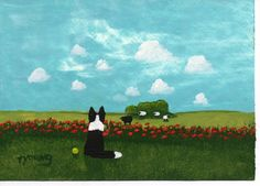 todd young art on etsy  - I want to get one of these for Tully one day.