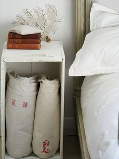 French monogrammed sheets