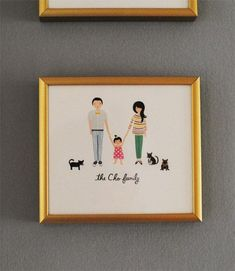 Family portraits by Rifle Paper Co.