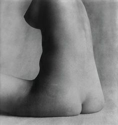 """Artwork by Irving Penn, """"Nude #17, New York, Made of Silver print"""