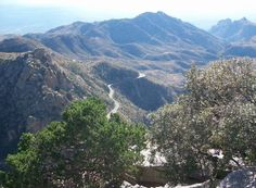 Mt Lemmon Tucson, AZ. The scenic byway was partially built by witnesses imprisoned for their nuetral stance
