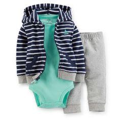 Agasalho Casaco Carters Fleece Menino Bebê 24 Meses 2 Anos