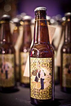 Custom wedding beer via unitedwithlove.com | Visit wedding-venues.co.uk