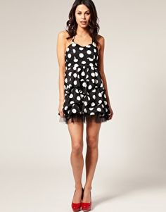 I prefer smaller polka dots, but this is adorable!