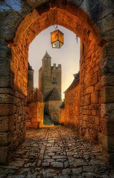 Old Archway in Beynac, France